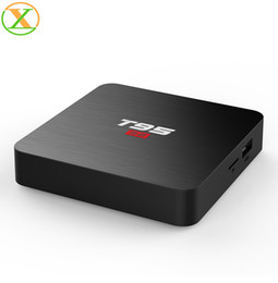 free tv receiver box UK - Free shipping t95s2 2g 16g android 7.1 amlogic s905w quad core 4k hd tv box