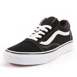 486e731b8be Discount sneakers club - with box wholesale Vans Old Skool Men women Casual  shoe Rock Flame