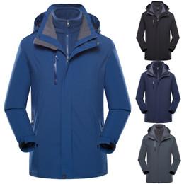 $enCountryForm.capitalKeyWord Australia - Mens Casual Jackets Coats Men's Plus Size Waterproof Hoodie Hat Jackets Men 2019 Detachable Breathable Sport Outdoor Coat
