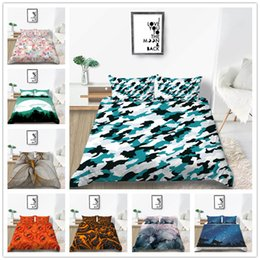 $enCountryForm.capitalKeyWord Australia - Beautiful Popular bedding set with Natural scenery Bedspreads 2 3pcs with Sheet Pillow Single Double King Size of Bedding Supplies