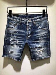 $enCountryForm.capitalKeyWord Australia - New Mens Jeans Designer Zipper Ripped Hole Stretch Denim Shorts Mens Casual Fashion Popular Denim Shorts