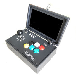 Game arcade joystick button online shopping - Pandora s box D can store game D Games with inch LCD Video Game Box Portable Arcade Box with Zero Delay Joystick Button