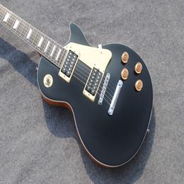 $enCountryForm.capitalKeyWord Canada - Black Custom Shop Electric Guitar Mahogany Body High Quality Musical instruments,free shipping