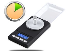 Coin Scale NZ - Precision Digtial 0.001 Milligram Electronic Balance 50g 0.001g Pocket Jewelry Weighing Scale Libra Gram Coin steelyard LCD LLFA