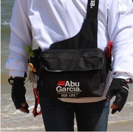 $enCountryForm.capitalKeyWord Australia - Fishing Waist Tackle Bag Waterproof Waist Shoulder Pack Case Reel Lure Line Hook Swivel Connector Tackle Fanny Bag Pack ABU #28330