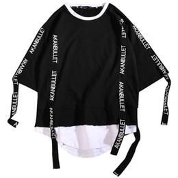 $enCountryForm.capitalKeyWord Australia - Harajuku Hip Hop T Shirt Men Fashions 2019 Tshirt Streetwear Casual Korean T Shirt Short Sleeve T-Shirt Men Summer Tees Shirts