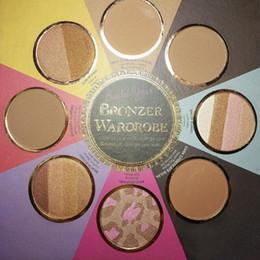$enCountryForm.capitalKeyWord Australia - Newest THE LITTLE BLACK BOOK OF BRONZERS Palette Eyeshadow Bronzer Wardrobe Blush Cheek Highlighter Limited Edition Cosmestics Palette