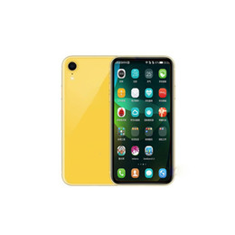 Cell Phones Big Screens Australia - Goophone XR 6.1inch 1GB 16GB Face Recognition Support Wireless GPS 3G WCDMA Show 4G LTE Phone Big Screen Dual Sim Cell Phones