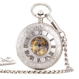 Glass Magnifier Gold Australia - Mechanics Will Pocket Watch Fully Automatic Surface Restore Ancient Ways Renovate Magnifier Luxury Watches