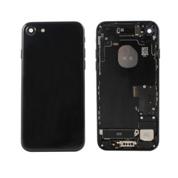 iphone back assembly NZ - High quality metal rear housing assembly for iPhone 7 back cover housing