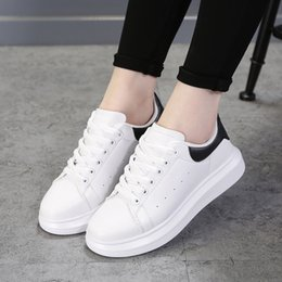 $enCountryForm.capitalKeyWord Australia - Women Flats Fashion White Sneakers Women Shoes Casual Korean Style Flat Shoes Ladies 2019 New Espadrilles Chaussures Femme MX190816