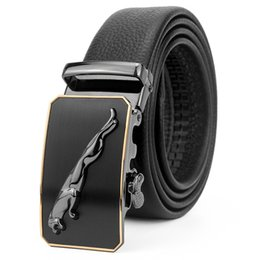 mens formal designer belts 2020 - Business Cheetah Automatic Buckle Belts Man Designer Belt Mens Belts Width 3.5cm 3Models Highly Quality cheap mens forma