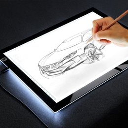 $enCountryForm.capitalKeyWord Australia - canvas for art A4 Light Drawing Board Tracer Calibration LED Art craft Sketch Tablet Tracing Light Pad Canvas for Painting Watercolor