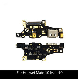 charging port huawei Australia - USB Charging Port Dock Connector Charger Port Plug Flex Cable Ribbon For Huawei Mate 10 Mate10