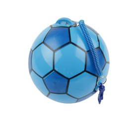 $enCountryForm.capitalKeyWord Australia - DHL 50pc NEW Inflatable Football With String Sports Kids Toy Ball Juggling Ball Outdoor kindergarten clap the ball Decompression toys