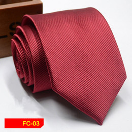 chinese tie NZ - 2018 New Arrival New Design Brocade Fabric Festive Chinese Dragon Pattern Wedding Tie Groom fashion Tie Red Black Wine Pink Brown Tie 003