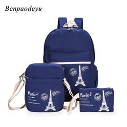 school bags set for girls 2019 - Casual Fashion Children Bags Canvas Backpack Women Bag for Teen Girls School Bags Kids Backpack Shoulder Handbags 3pcs s