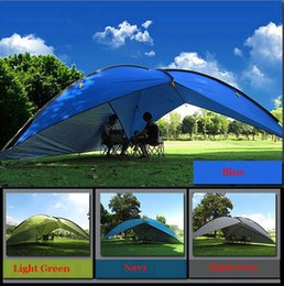 Waterproof Tent Shelter Australia - 2019 new style good quality 480*480*480*200cm large space waterproof ultralight sun shelter bivvy awning beach tent