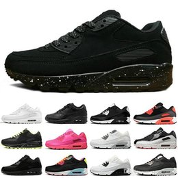$enCountryForm.capitalKeyWord Australia - 2019 Fashion Running Shoes For Men Women Black White Oreo Red Leather Flat Cushion Athletic Mens Trainers Sports Sneakers Casual Brand Shoe