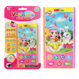 Phone Types Australia - Children's multi-function learning machine early education puzzle intelligent learning English toy mobile phone YS2601A