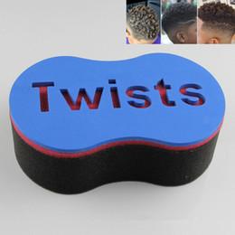 Hair Locking Tool Australia - Barber Magic Twist Hair Sponge Brush Hair Sponge Brush Dreads Locking Coil Curl Wave DIY Tool