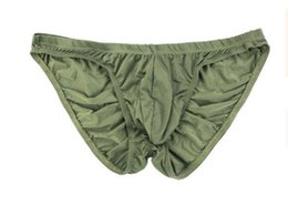 wholesale high quality low price 3 pcs lot SexyTransparent sac U-convex  Briefs men s underwear (8llll 1000bb0268