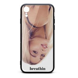 $enCountryForm.capitalKeyWord Australia - Ariana Grande Breathin album white phone cases,case,iphone cases,iphone XR cases custom phone designer phone cases XR fancy nice cases fashi