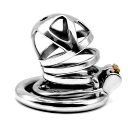 $enCountryForm.capitalKeyWord Australia - Male Chastity Device Stainless Steel Cock Cage Adult Fetish Penis Barbed Anti-off Ring Chastity Cage Sex Toys for Men G7-1-253E
