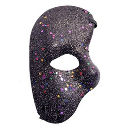 $enCountryForm.capitalKeyWord Australia - Women Masks Masquerade Party Masked Ball masks Halloween festive supplies Mask Left Half Face Phantom Of The Night Opera Men