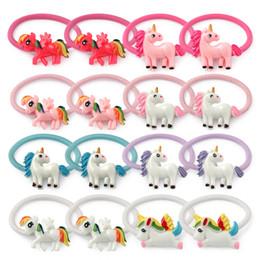$enCountryForm.capitalKeyWord Australia - unicorn hair bows for kids fashion candy color designer hairbands plastic hot sale unicorn headbands children cute hair accessories