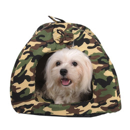 $enCountryForm.capitalKeyWord Australia - Winter Warm Pet Dog House Camouflage For Small Dogs Beds Cave Cat Tent Kennel Nest Puppy Kitten Resting Place Mats Pet Supplies
