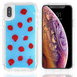 samsung galaxy phone series 2020 - For Samsung S10 E 5G S9 Plus Note 9 PC TPU Flower Gilliter Series Bumper Full Body Protective Phone Case Cover