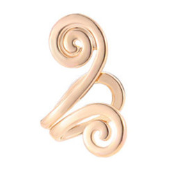 $enCountryForm.capitalKeyWord Australia - Personalized Monkey King Golden Hoop Clip Earrings Special Designed Ear Cuff Clip Earrings For Women Fashion Jewelry Gift WD488
