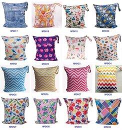 INS детские пеленки сумки 58 стили мокрой сухой пеленки мешок многоразовые ткань пеленки водонепроницаемый младенческой путешествия пеленки сумки многофункциональный Мумия сумка 284