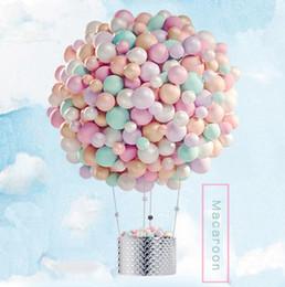 $enCountryForm.capitalKeyWord Australia - 10 inch Macaron Latex balloons Candy Balloon For Party Wedding Birthday Child Toys Globos Party Balloons