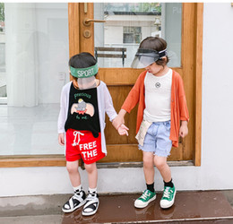 $enCountryForm.capitalKeyWord Australia - Boy sun block clothing Korean version of children's foreign skin clothing child baby spring and summer coat thin tidal summer boy wear