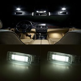 $enCountryForm.capitalKeyWord Australia - LED Vanity Mirror lamp light for VW Plus Golf5 Golf6 Jetta Passat CC Sharan Touareg Tiguan EOS Scirocco Polo Touran Skoda superb