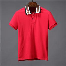 5678bc93dad8 New 2019 luxury brand Eyes designer GU men s Polo short sleeve G329 Italian  fashion casual style business cotton lapel T-shirt