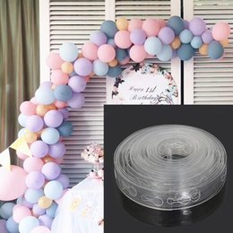 Fix Chain Australia - Plastic Balloon Chain 5 M Balloon Fixing Tool Wedding Decoration Balloon Fixing Tool People Festival Party Supplies