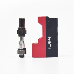 new mods starter kit Canada - Original imini Thick oil Cartridges Vaporizer Kit 500mAh Box Mod Battery 510 Thread New Liberty V1 Tank Wax Atomizer vape pen Starter vapor