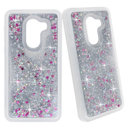 plastic case vivo Australia - For VIVO Y83 PRO Y91 Y93 Y95 Y97 V11 X21S Gradient Quicksand Glitter Bling Flowing Liquid Floating Protective Phone Case Cover