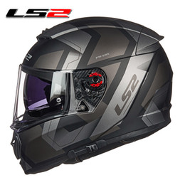 $enCountryForm.capitalKeyWord Australia - LS2 FF390 full face motocycle helmet anti-fog sun visor shield Pinlock motorbike helmet racing DOT approve moto helmets