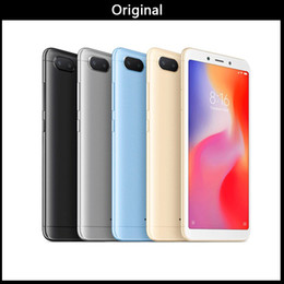 "xiaomi gps NZ - DHL Original Global Version Xiaomi Redmi 6 3GB 64GB Mobile Phone Helio P22 Octa Core 12MP+5MP Dual Cameras 5.45"" 18:9 Full Screen"
