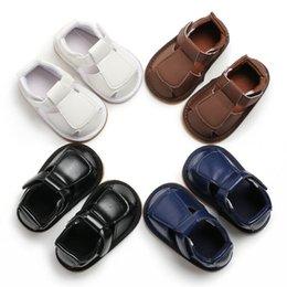 $enCountryForm.capitalKeyWord Australia - Baby shoes leather 2019 Baby shoes Newborn Summer Boys Children First Walkers Soft Sole Prewalker Infant 0-18 Months