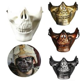 $enCountryForm.capitalKeyWord NZ - LOW price Masquerade Halloween Masquerade Party Airsoft Skull Mask Novelty Motorcycle Half Face Masks YUP t159