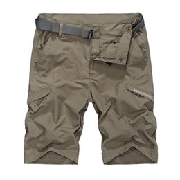 50cf533e6f4 Thin cargo panTs men online shopping - 2018 Waterproof Cargo Military Shorts  Plus Large Size M