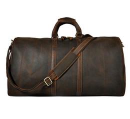 2018 новая мода мужчины женщины дорожная сумка вещевой мешок, 2019 сумки багажа большой емкости спортивная сумка 58 см на Распродаже