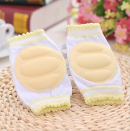infant boys leggings Australia - 1 Pair Kids Safety Crawling Elbow Kneepad Cushion Toddlers Baby Girls Boys Knee Pads Protector Safety Mesh Infant Leg Warmer