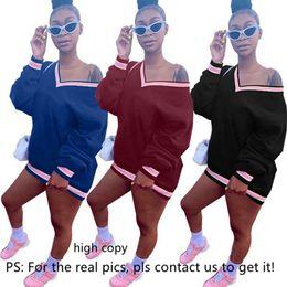 $enCountryForm.capitalKeyWord Australia - Champions women hoodies dresses sexy letter print mini skirt designer fall clothing fashion long sleeve sports dresses hot selling 985