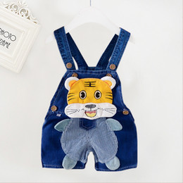 $enCountryForm.capitalKeyWord NZ - good quality baby boys summer bib short trousers for toddler new fashion new style baby casual cotton cartoon bebe overalls